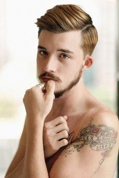 #men #mustache #ginger
