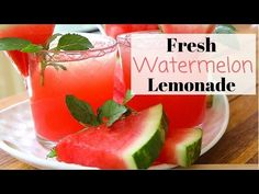 Summer is on its way, and that means it's time to bring out the hot weather recipes. Nothing is more refreshing than lemonade or a slice of watermelon on a hot summer day. So mixing the two together is by far the best summer treat you can have!    If you've never had watermelon lemonade, you're real