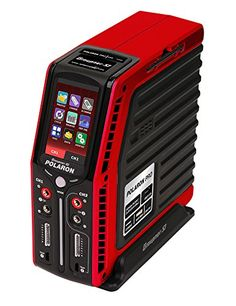 Graupner Polaron PRO Charger Red >>> You can get additional details at the image link.Note:It is affiliate link to Amazon.