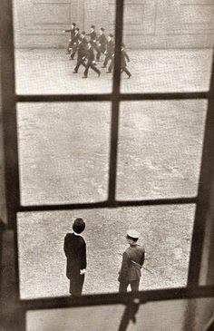 Photograph by László Moholy-Nagy for Bernard Fergusson's book Eton Portrait (1937).