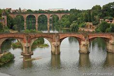 Albi, FRANCE Ville natale de Toulouse Lautrec.