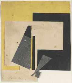 Gertrude Greene Untitled (1938-019), 1938 (Collage on paper, 8 3/4 x 7 1/2 inches) Spanierman Gallery, NYC