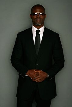 Djimon Hounsou/Dear God He Is Beautiful