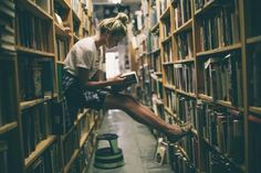 """""""We read and we read and we read and we read. We couldn't get enough of those books, and we soaked up every word as eagerly as a sponge. You could go to the library and struggle to find a spot to sit. But it was always quiet and always peaceful. We were all in awe at the endless supply of books."""" -Rory Lee"""