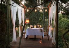 Book your stay at Botlierskop Private Game Reserve in Mossel Bay, South Africa. Wedding Events, Weddings, Private Games, Game Reserve, South Africa, Table Decorations, Pretty, Home Decor, Courtyards