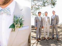 Grey Stylish Groom Details | Malibu Hilltop Wedding | Josh Elliott Photography | Sugar Branch Events