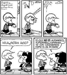 """Joaquín Salvador Lavado, """"Quino"""", a través de la simpática Mafalda dio diversas lecciones para disfrutar el día a día Mafalda Quotes, Jim Davis, Humor Grafico, Sanrio, Vignettes, Hogwarts, Geek Stuff, Jokes, Cartoon"""