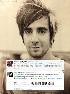 This is one of the reasons why I Love Jack Barakat