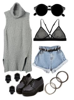 """""""#110"""" by danielsalvaterrafonseca ❤ liked on Polyvore featuring D.L. & Co., Skin, Retrò and Pearls Before Swine"""