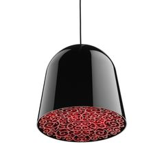 Lamp With Floral Detail Diffuser - 'Can Can' by Flos