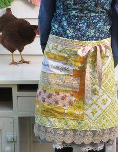 agatha autumn apron wrap... by dottieangel on Etsy