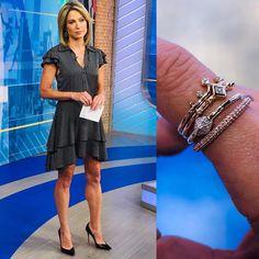 wears via and fine jewelry ✨ Jewelry, Fine Jewelry, How To Wear, Kendra Scott, Style, Amy Robach, Amy, Instagram