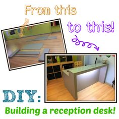diy reception desk1