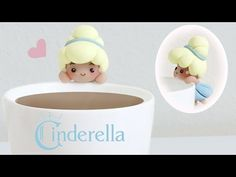 Cinderella Tea Cup / Tea Bag Holder polymer clay tutorial