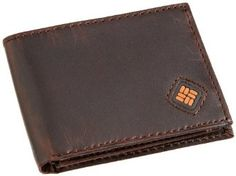 Columbia Men's Leather Slim Traveler Bifold Wallet Billfold wallet featuring rubberized inset logo, tonal topstitching, and flip-out ID window flap Includes a gift box which can be used as a valet tray Best Credit Card Offers, Best Credit Cards, Front Pocket Wallet Men, Slim Wallet, Branded Wallets, Billfold Wallet, Slim Man, Leather Men