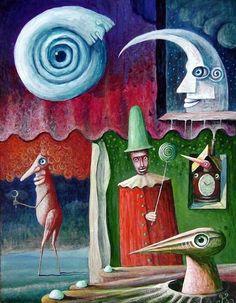 leszek kostuj art | Guardians of Dreams by Leszek Kostuj