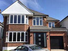 1930s House Extension, Porch Extension, House Extension Plans, House Extension Design, Side Extension, Extension Ideas, House Front Porch, Front Porch Design, House Entrance
