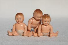 Via Etsy: 3 Vintage Renwal Baby Dolls
