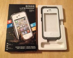 """LAST CHANCE!  """"White LIFEPROOF CASE for iPhone 4 4S - Protect from Water, Dirt, Snow, & Shock!""""  BEST OFFER WILL BE ACCEPTED IN A FEW HOURS!  BUY IT NOW OR MAKE A BETTER OFFER!  **FREE SHIPPING**  #eBay"""