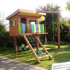 15 Großartige Bilder Zu Spielturm Backyard For Kids Children