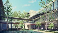 Gallery of As.Architecture-Studio and VHA Architects Unveil Green University Campus Plan in Vietnam - 3