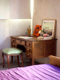 wish i had a desk like this House Tours, Home Office, Corner Desk, House Design, Interior Design, Inspiration, Furniture, Home Decor, Dream Homes