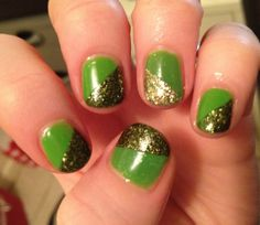 Patrick's Day Nails & Manicures Check out 29 different ways readers got festive for St. :) Jessica used: Revlon Colorstay in Nail Manicure, Nail Polish, Manicures, St Patricks Day Nails, Easter Nails, Hair Skin Nails, Nail Tutorials, Holiday Nails, You Nailed It