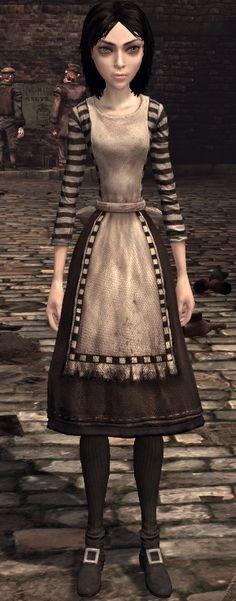London (dress) - American McGee's Alice Wiki - Madness Returns!