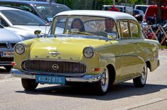 1958 Opel Olympia Rekord 1.5L 4-Cylinder 45bhp Engine
