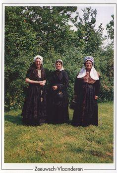 Zeeland-Dress,-Holland by naya_hachi, via Flickr  Zeeuws-Vlaanderen: Axel, Cadzand en Hulst