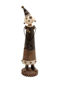 Steampunk Pumpkin Man Figurine