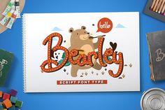 Bearley by Heroglyphs on @creativemarket