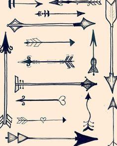 #tattoo #arrow