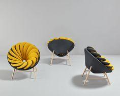 Marc Venot, Designer français, présente le fauteuil Quetzal, un fauteuil réversible spécialement dessiné pour la marque espagnole Missana.