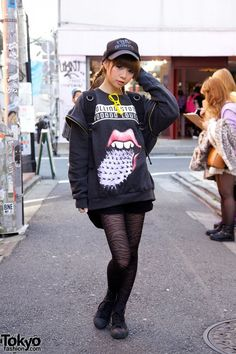 harajuku japanese street fashion ・長谷川 あやさん。♥