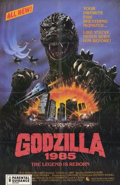 Godzilla 1985 is a Japanese American science fiction kaiju film co-directed by R.J. Kizer and Koji Hashimoto. The film is a heavily re-edited version of the Japanese film, The Return of Godzilla, originally produced by Toho in 1984. In addition to the film being re-cut, re-titled, and dubbed in English, Godzilla 1985 included a small American production, produced by New World Pictures, featuring new footage shot exclusively for the film's North American release.