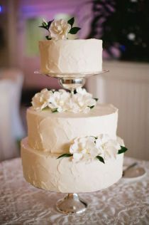 Pretty structure and buttercream