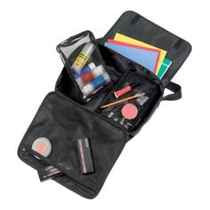 Make-Up Bag   #41113  The Make-Up bag can be carried easily in hands or on shoulder , as it is adjustable, it holds some detachable pouches of different sizes for an optimum products' organization.