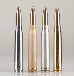 V3tronix line of 50 Caliber Bullet Vape Mod.  www.v3tronix.com