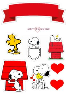 Snoopy And Charlie, Bolo Snoopy, Cartoons, Scrap, Fictional Characters, Ideas, Snoopy Party, Happy Brithday, Cartoon