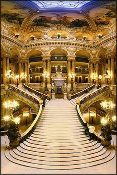 Opera Charles-Garnier, Paris by ∃Scape, via Flickr