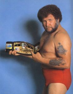 NWA World Heavyweight Champion Harley Race. Awa Wrestling, Wrestling Superstars, Buddy Rogers, Harley Race, World Heavyweight Championship, Professional Wrestling, Athlete, Racing, Lucha Libre