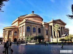 Teatro Massimo - Palermo View