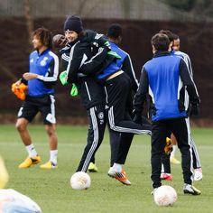 oown how cute *-* Ba & David Luiz. Chelsea FC