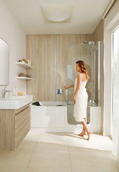 Bathroom Renos, Bathroom Interior, Lisbon Apartment, Mini Bad, Condo Decorating, Whirlpool Bathtub, Bathroom Design Small, Design Case, Bath Remodel