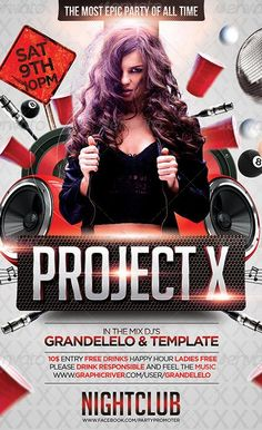 564 best club and party flyer images on pinterest in 2018 flyer
