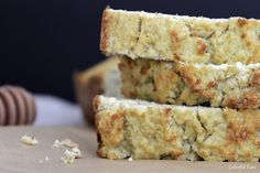 Grain Free Sandwich Bread ~ like I'll ever make this, but it sure looks delectably fabulous!