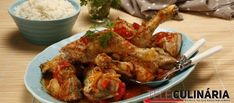 """Receita de """"Cataplana"""" de frango. Descubra como cozinhar """"Cataplana"""" de frango de maneira prática e deliciosa com a Teleculinária!"""