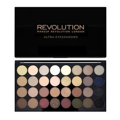Makeup Revolution Ultra 32 Shade Eyeshadow Palette - Flawless  - Click to view a larger image