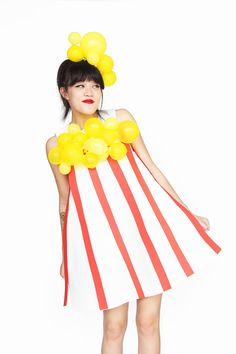 » DIY Popcorn Halloween Costume